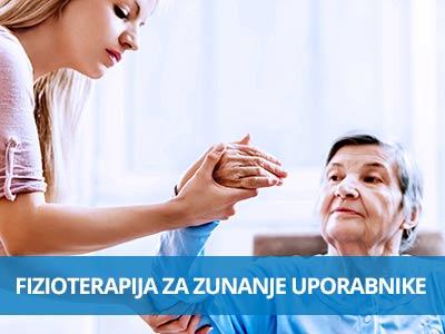 Fizioterapija za zunanje uporabnike